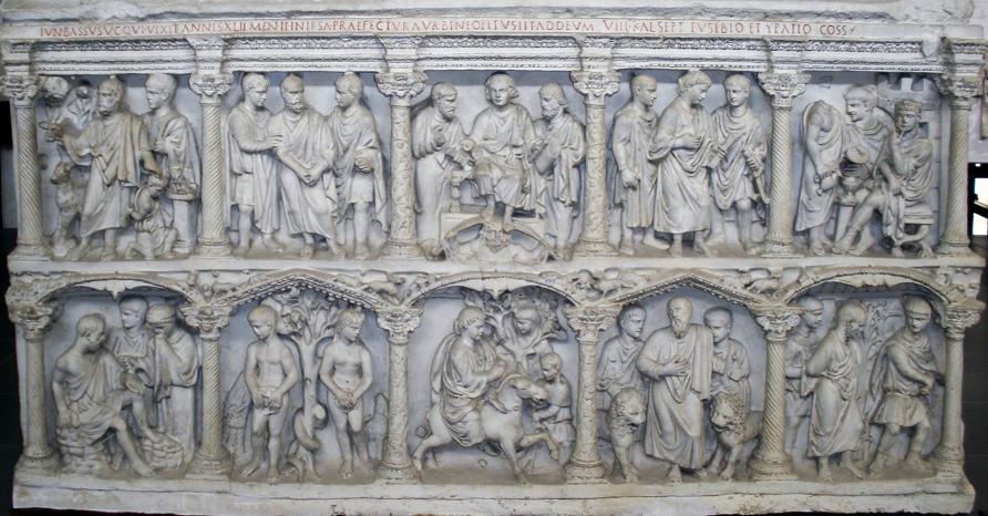 Photo of La iconografía cristiana y su lenguaje en los sarcófagos paleocristianos