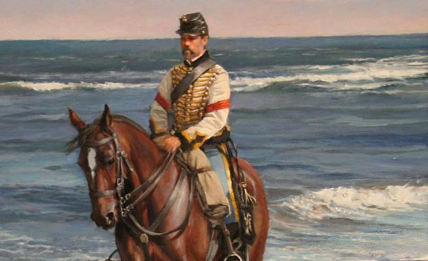 Photo of Pedro Mur, el cabo de húsares que pintó Dalmau