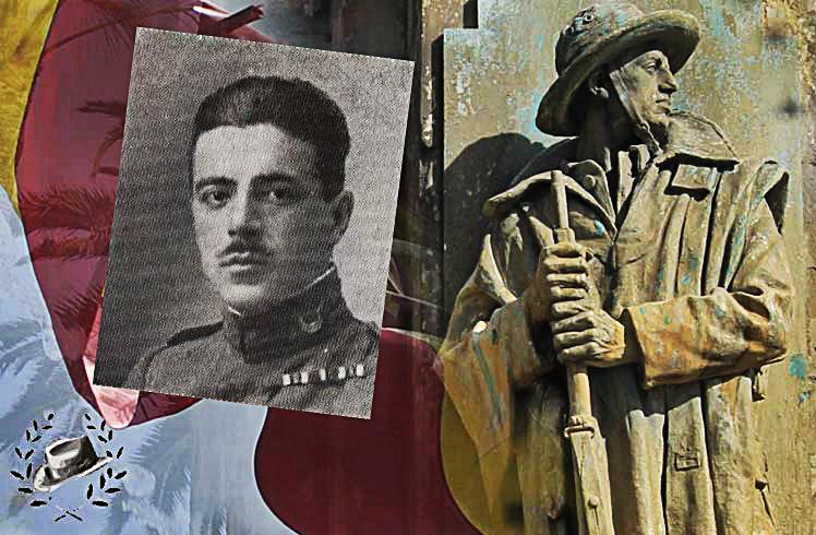 Photo of El Comandante José Valdés Martel, escritor, Caballero de la Orden de San Fernando e infante de vanguardia