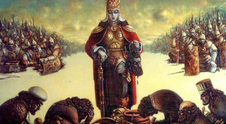 tomiris reina guerrera