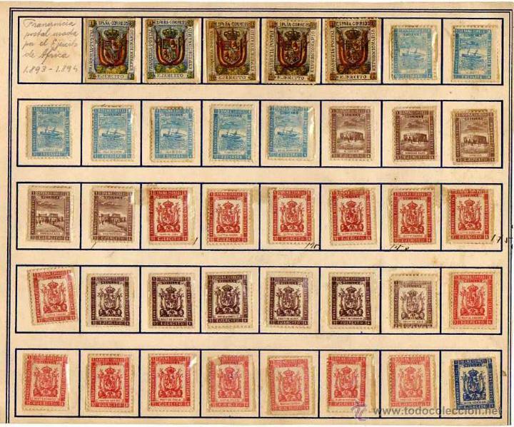 Photo of La franquicia postal del ejército español en África entre 1893-94
