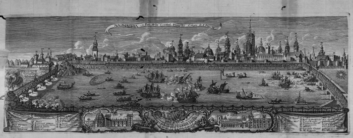 naumaquia madrid sevilla barco san fernando felipe iv 1628