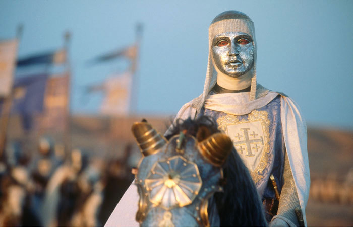 el rey leproso Cruzadas batalla