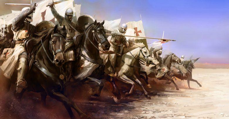 rey leproso Cruzadas batalla