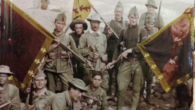 Photo of Carlos Rodríguez Fontanes, el primer Jefe caído de la Legión