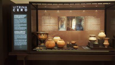 """Photo of Piezas de la Necrópolis Ibérica de Toya en la """"Vitrina 0"""" del Museo Arqueológico Nacional"""