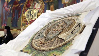 Photo of Recuperan un mosaico bizantino saqueado por los Turcos en 1974 en Chipre