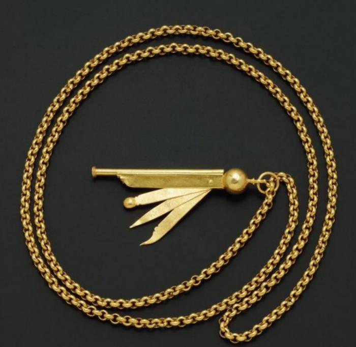chifle de oro almirante