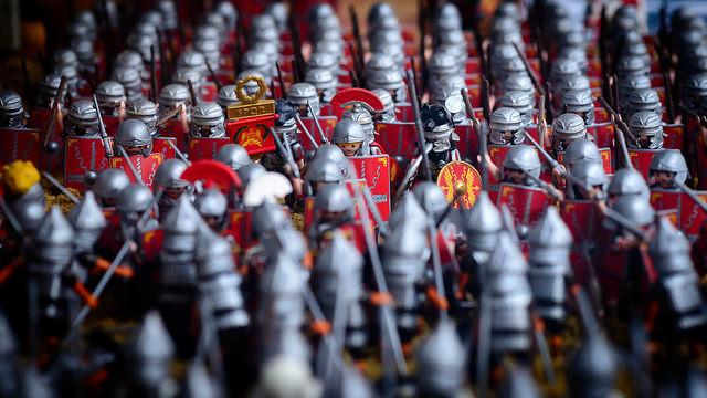 sueldo alimentacion legionario romano