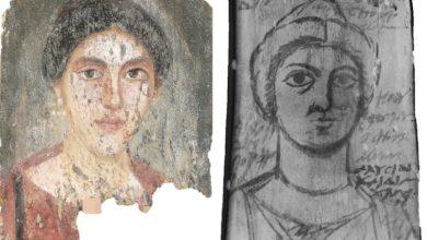 Photo of La anotación en un boceto de hace casi 2000 años: «Pinta los ojos más suaves»