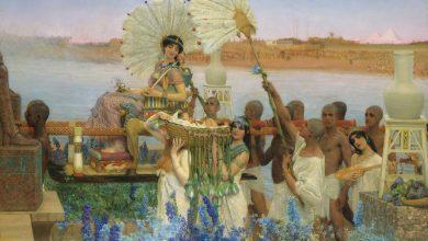 """Photo of Alma-Tadema, y el """"Hallazgo de Moisés"""""""