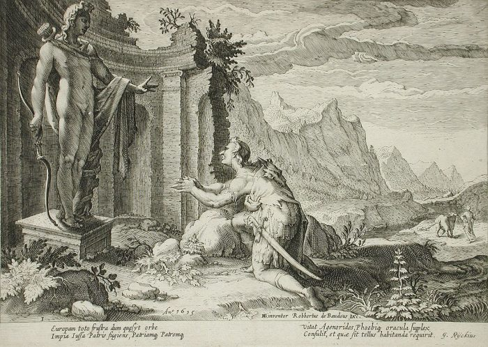 mitologia europa cadmo
