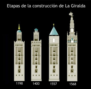 giralda sevilla construccion arquitectura