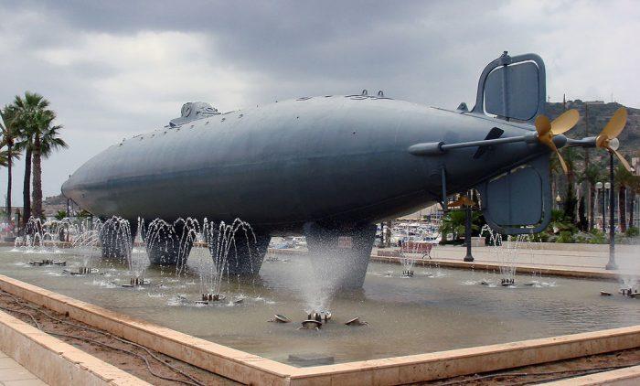 isaac peral submarino murcia