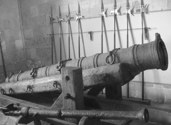 Lopez orozco engeños trabucos artilleria mendoza